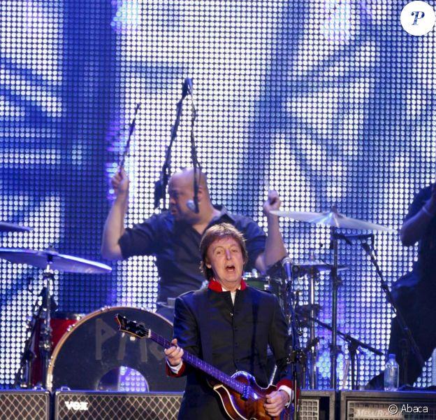 Paul McCartney en concert à Mexico le 27 mai 2010