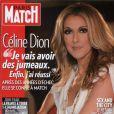 Céline Dion en couverture de Paris Match, en kiosque le 3 juin 2010