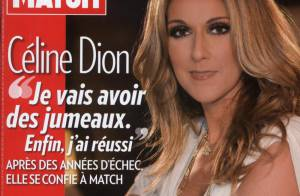 Céline Dion, enceinte de jumeaux : ''J'ai déjà un bon ventre, j'ai pris 4,5 kilos'' !