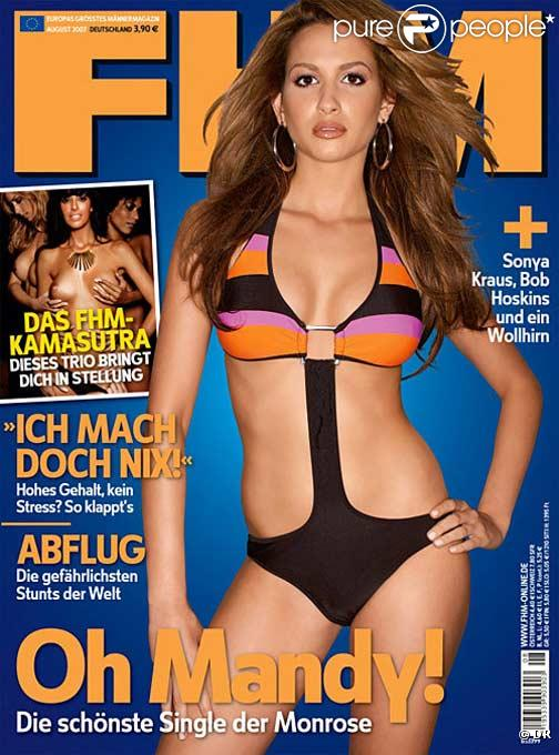 mandy capristo. Mandy Capristo en couverture