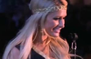 Regardez Paris Hilton draguer Ne-Yo sur scène en plein concert !
