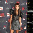 La belle VV Brown, à l'occasion de la grande soirée du label AZ, organisée au VIP Room Theatre, à Paris, le 3 juin 2010.