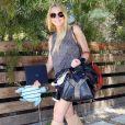 L'actrice américaine Lindsay Lohan