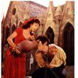 Anthony Quinn avec Gina Lollobrigida dans Quasimodo