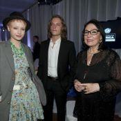 Pierre Sarkozy et Karl Lagerfeld font tourner la tête... de Nana Mouskouri !