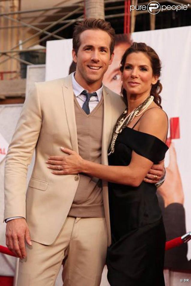 Des images de  La proposition , avec Sandra Bullock et Ryan Reynolds, sorti en septembre 2009.