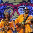 Concert inaugural de la Coupe du monde, le 10 juin 2010 à Soweto : Amadou et Mariam