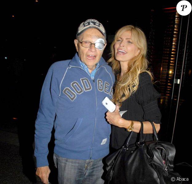 Larry King et son épouse Shawn Southwick