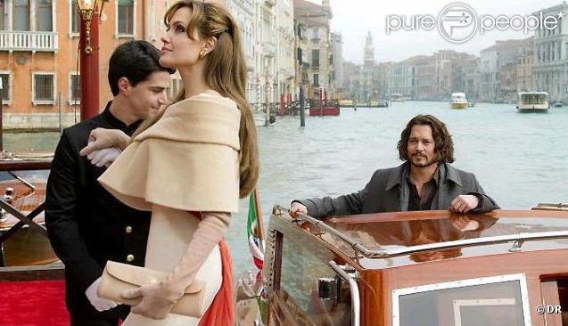 Première photo promotionnelle d'Angelina Jolie et Johnny Depp dans The Tourist.