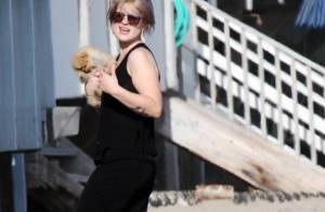 Kelly Osbourne, toujours amincie et décontractée : balade ensoleillée avec sa maman Sharon !