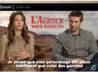 """Interviews exclusives : La sublime Jessica Biel et le délirant Sharlto Copley vous recrutent pour """"L'agence tous risques"""" !"""