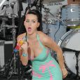 Katy Perry lors du Volkswagen unveiling event à Times Square, à New York le 15 juin 2010