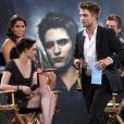 Le casting de Twilight sur le plateau du Jimmy Kimmel Live le 15 juin 2010