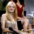 Le casting de Twilight sur le plateau du Jimmy Kimmel Live le 15 juin 2010 : Dakota Fanning