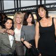 Saïda Jawad, Evelyne Bouix et Mathilda May à la soirée Nicolas Feuillatte, le 16/06/2010.
