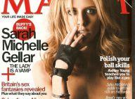 PHOTOS : Sarah Michelle Gellar, alias Buffy, se dévêt pour Maxim...