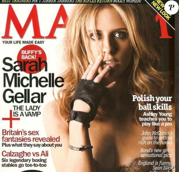 Sarah Michelle Gellar pose pour Maxim
