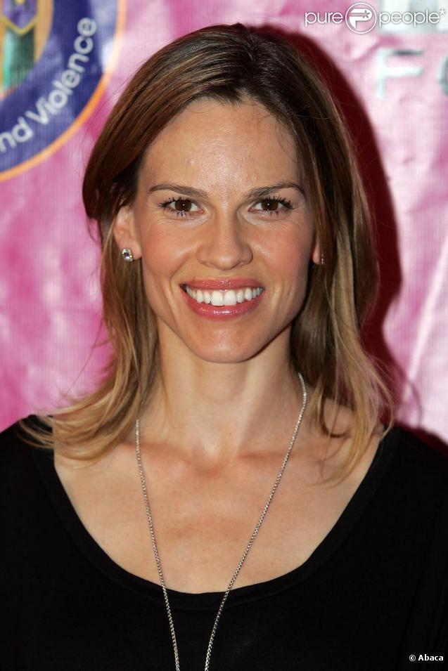 Hilary Swank, bientôt au générique de  Betty Anne Waters.