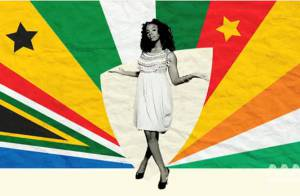 Regardez Kelly Rowland mélanger toutes les couleurs de l'Afrique urbaine pour la Coupe du monde !
