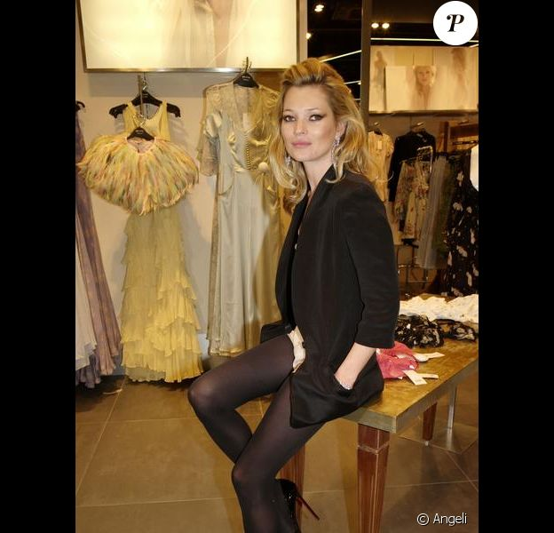 Le top model britannique Kate Moss