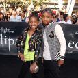 Willow et Jaden Smith lors de l'avant-première de Twilight 3 : Hésitation à Los Angeles le 24 juin 2010