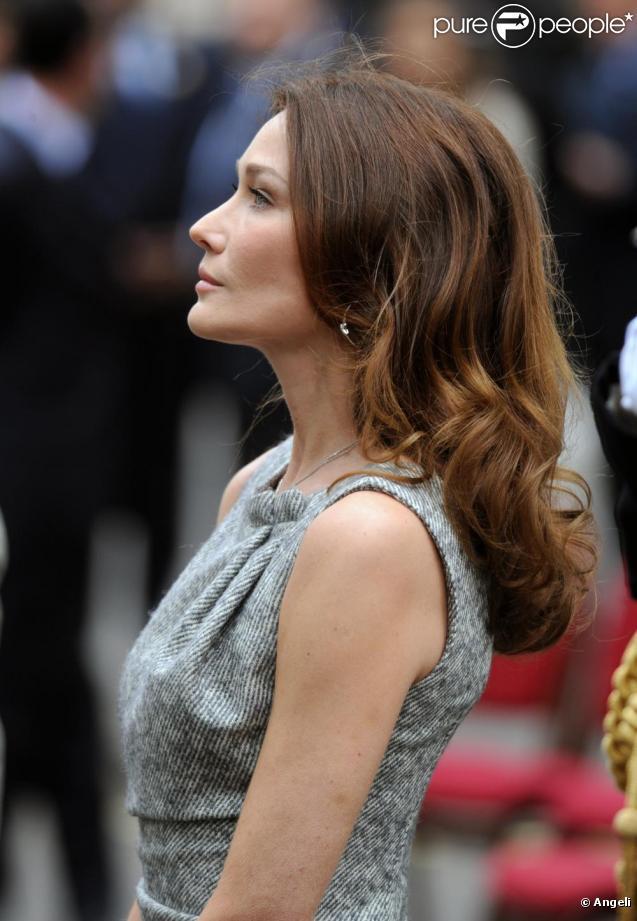 Carla Bruni à Londres en juin 2010