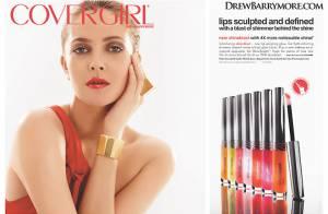 Drew Barrymore : Une artiste de talent et une cover girl des plus sexy !