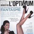 Eva Longoria en couverture de l'Optimum