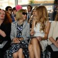 Blake Lively et Anna Wintour au défilé Dior