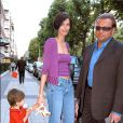 Heather Stewart-Whyte, son mari Franck Ferrando alias Dan Koonoo et leur fils Stéphane