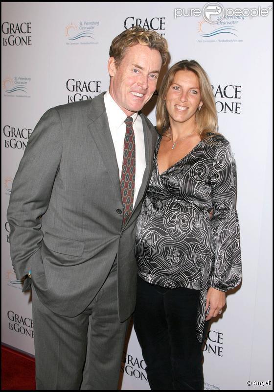 John C. McGinley et son épouse Nichole