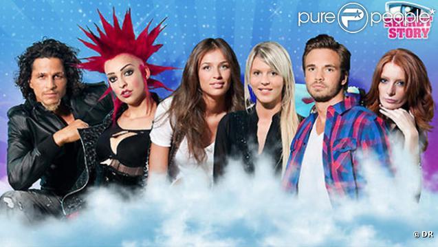 Amélie, Charlotte, Chrismaëlle, Julie, Ahmed et Maxime