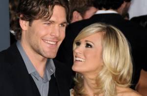 La chanteuse Carrie Underwood a épousé son joueur de hockey !
