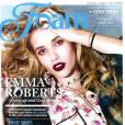 Emma Roberts en couverture du magazine  FOAM  du mois d'août 2010