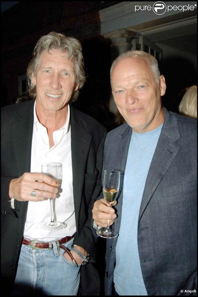 Roger Waters et David Gilmour (photo : à Londre en 2005), les frères ennemis de Pink Floyd, se retrouveront au pied du Wall pour la tournée  The Wall live tour  de Waters...