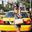 Alessandra Ambrosio à New York, le 16 juillet 2010