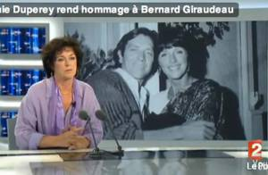 Anny Duperey et son fils Gaël rendent hommage à Bernard Giraudeau :