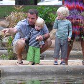 Liev Schreiber : Quand Naomi Watts n'est pas là, papa Liev prend la relève comme il se doit !