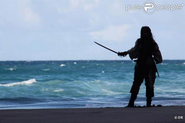 Les photos du tournage de  Pirates des Caraïbes : La Fontaine de Jouvence , en juillet 2010.