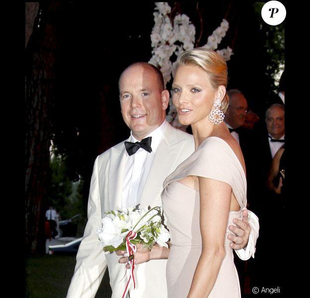 Albert de Monaco et sa future épouse Charlene