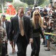 Lindsay Lohan fait son entrée dans le centre de détention de Lynwood le 20 juillet 2010