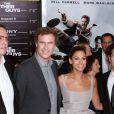 Adam McKay, Will Ferrell, Eva Mendes et Mark Wahlberg lors de la première mondiale de Very Bad Cops  (The Other Guys) au Ziegfeld Theatre à New York, le 2 août 2010