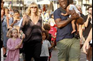 Heidi Klum et Seal : Des vacanciers comme les autres à Saint-Tropez... avec leurs craquants enfants !