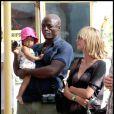 Heidi Klum, Seal et leurs enfants sont en vacances dans le sud de la France. Saint-Tropez, le 2 août 2010.
