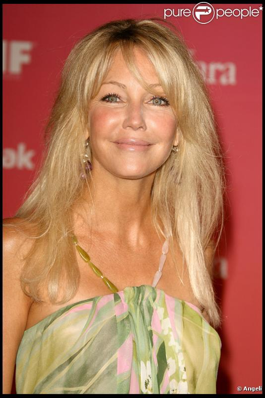 L'actrice américaine Heather Locklear