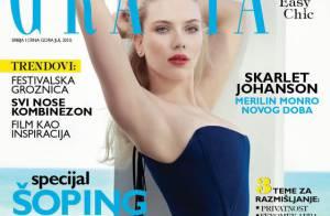 Scarlett Johansson en dessous rétro et sexy... C'est juste magnifique !