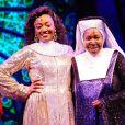 Whoopi Goldberg et Patina Miller dans le spectacle musical  Sister Act , à Londres, le 10 août 2010