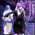 Whoopi Goldberg dans le spectacle musical  Sister Act , à Londres, le 10 août 2010