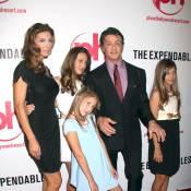 Sylvester Stallone avec sa famille, des gros bras et des bimbos... dans la cité du vice !