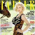 La ravissante January Jones en couverture de l'édition britannique du magazine  Tatler , septembre 2010.